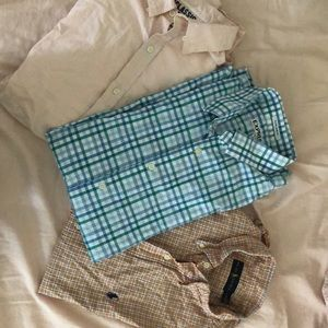 Three men's shirts 👕 size large